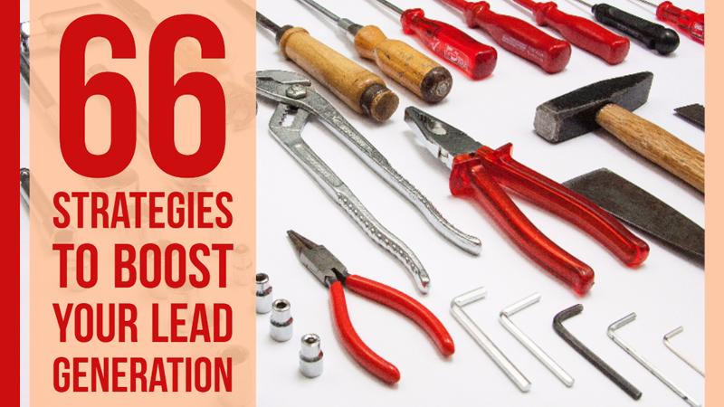 66 Strategies for Lead Generation